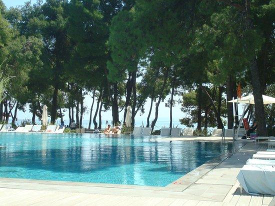 Club Med Gregolimano: Piscine chauffée