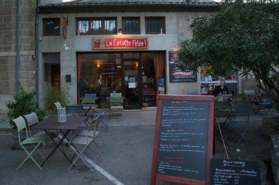 La Cocotte Felee : Great new restaurant in Lagrasse
