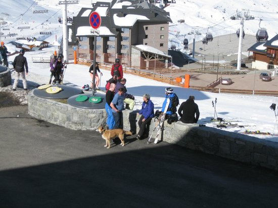 Residence l'Oxalys: 20 metres to or from piste