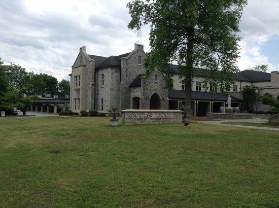 Sleep Inn near Ft. Jackson: St Joseph Catholic Church in Columbia SC
