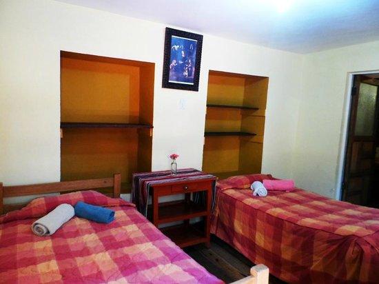 Pirwa Hostel Backpackers Familiar, San Blas: the hostel room