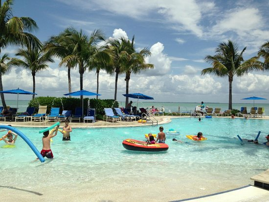 Sanibel Island Hotels: Kiddie Pool Overlooking Pine Island Sound