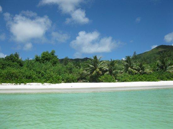 Les Villas d'Or: La plage depuis l'océan indien à 30°