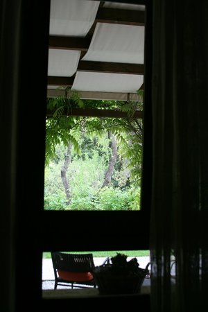 Villa Magnolia Relais : View from our room