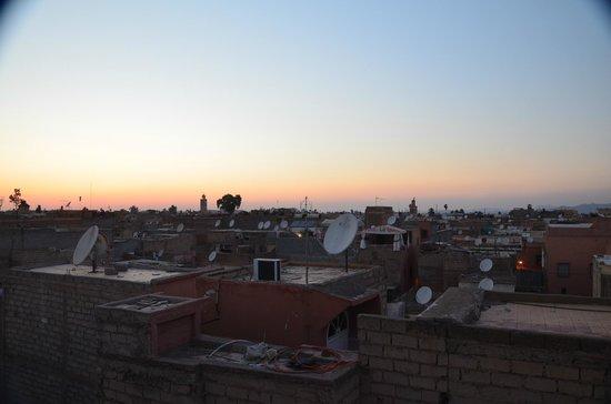Riad Al Badia: dalla terrazza