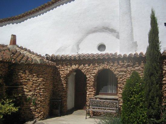 Cuevas del Tio Tobas: Fachada cueva