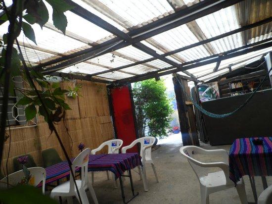 Hostal Ek Balam : lounge