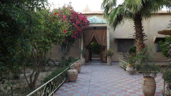 Taroudant, Marruecos: la cour