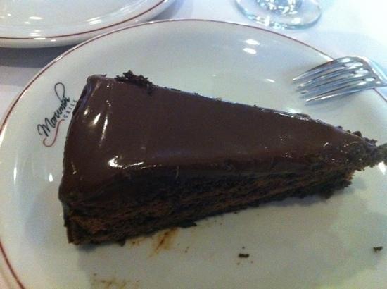 Morumbi Grill: torta mousse de chocolate