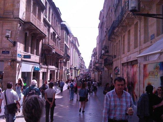 Adagio Bordeaux Gambetta : Rue Sainte Catherine