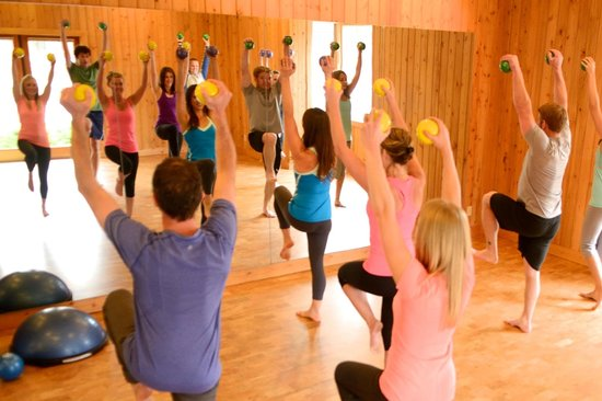 Studio 48 Pilates and Fitness: Total Barre