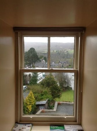Carra Beag Guest House: View from 2nd floor double bed room (#6)