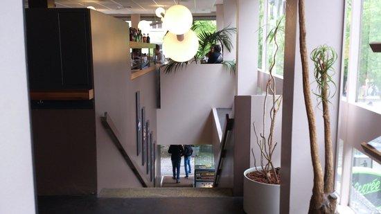 TM Cafe Talkwine : l'escalier