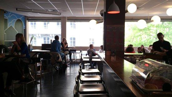 TM Cafe Talkwine: café au 1er ét.