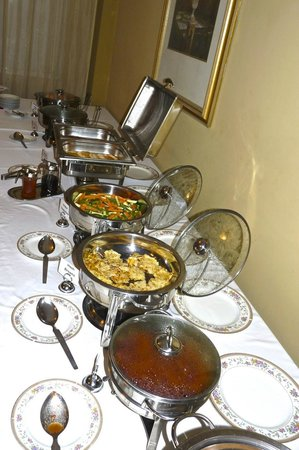 Addis Regency Hotel: breakfast choices