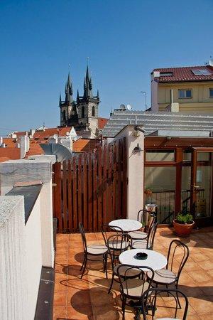 Hotel Dar: Терраса на крыше