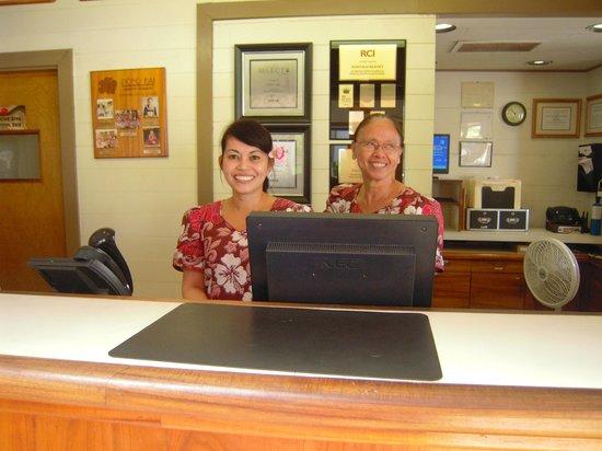 Pono Kai Resort: Friendly Front Desk Staff