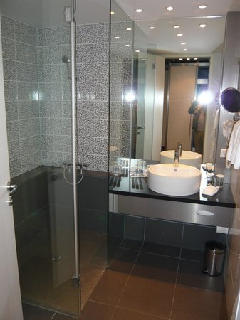 Pannonia Tower Hotel Parndorf: Bathroom