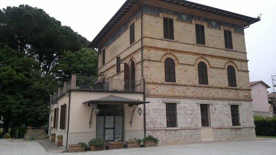 Villa Raffaello Park Hotel : camere con terrazzo