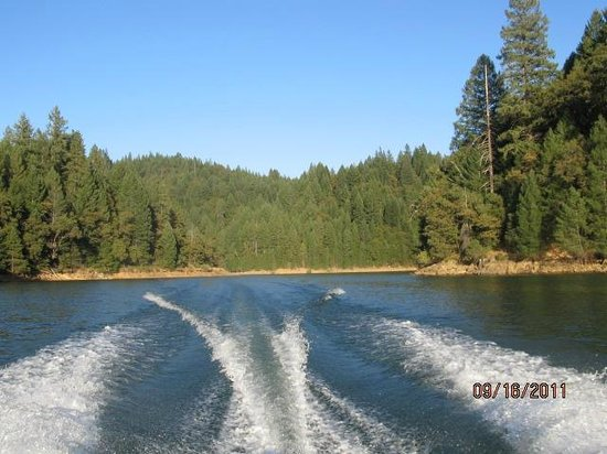 Rollins Lake: Boating