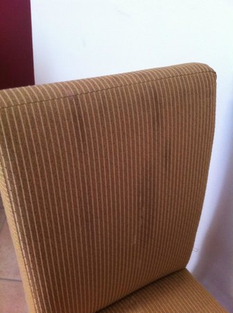 Leonardo Suite Tel-Aviv Bat-Yam: Filthy furniture
