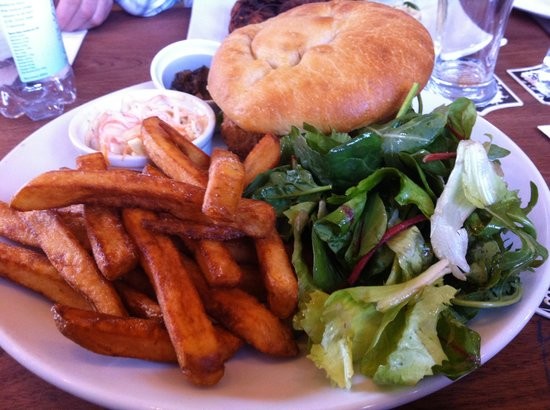 The Wheelwright Inn: Veggie burger