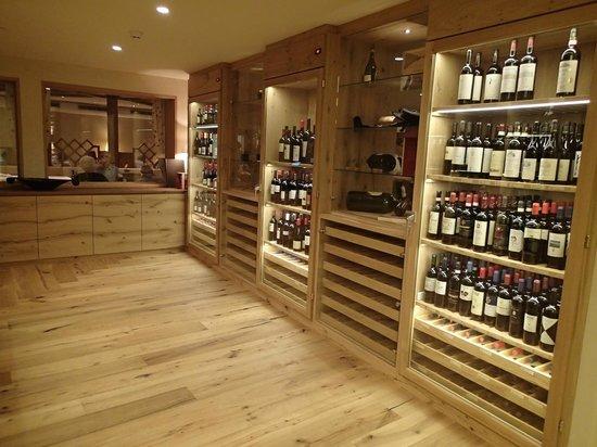 Familien- & Wellnesshotel Prokulus: Weingestell
