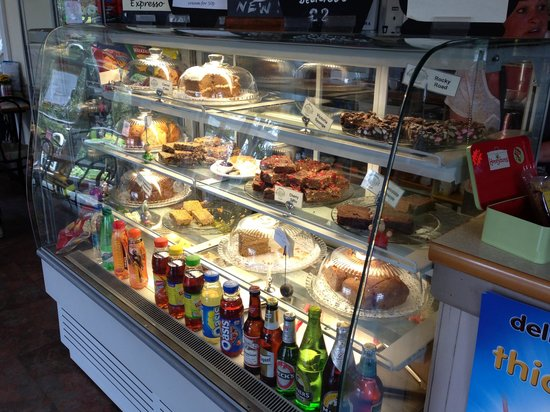 St Nicholas Park: Nice selection of cakes in the cafe