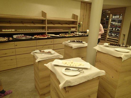 Familien- & Wellnesshotel Prokulus: Dessert Buffet