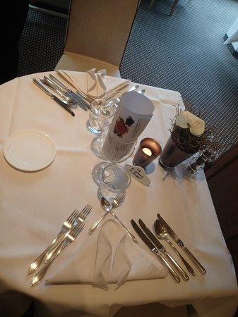 Familien- & Wellnesshotel Prokulus: Tisch