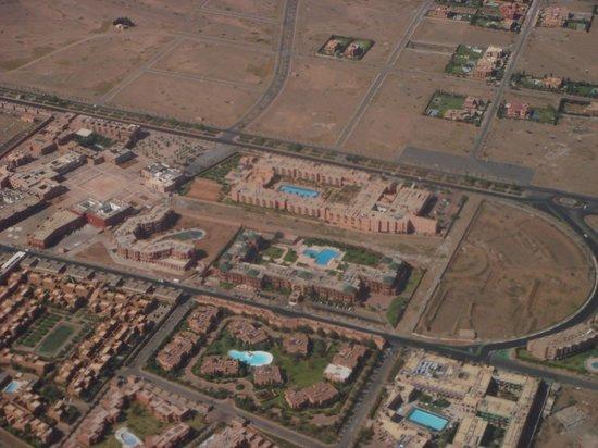 Palm Plaza Marrakech Hotel & Spa: Luftaufnahme