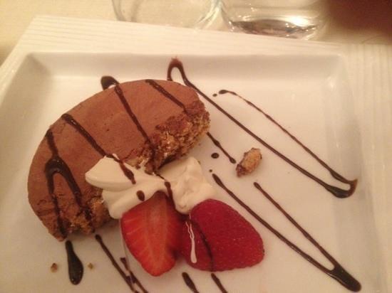 RetroGusto Ristorante: semifreddo al cioccolato