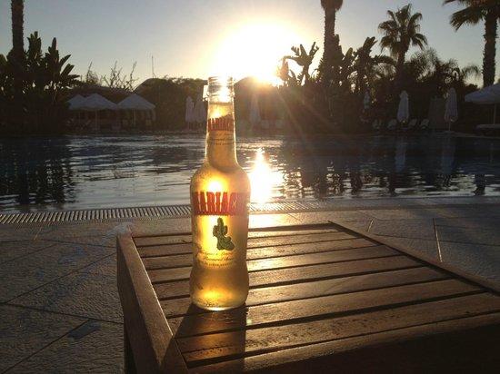Susesi Luxury Resort: sunset