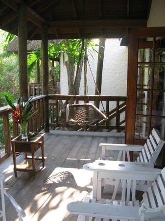 Kuyaba Hotel & Restaurant - Negril: Baclcony