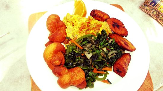 Kuyaba Hotel & Restaurant - Negril: Jamaican Breakfast