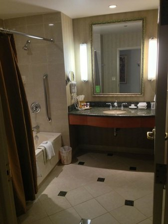 Harrah's Joliet: Nice Bathroom