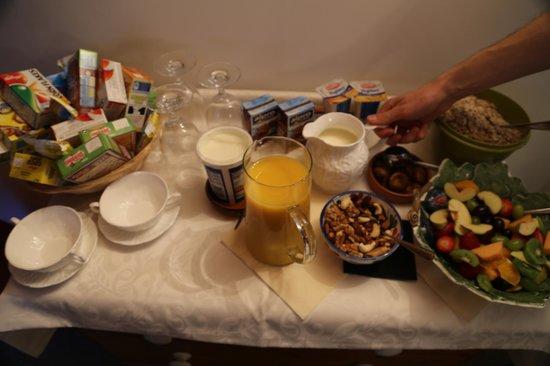 Villamorva: A half of our breakfast