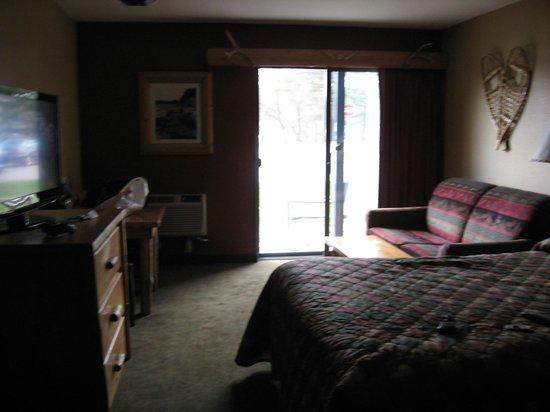 Wilderness Resort: room