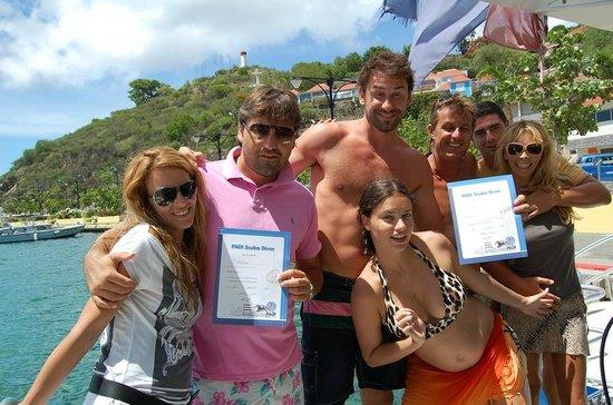 Plongee Caraibes Catamaran: une bonne équipe