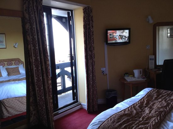 The Cooden Beach Hotel: Our double room