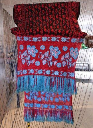 Pumapungo Museum and Arqueological Park - MCYP: Weef- en borduurkunst
