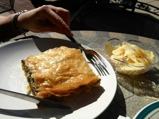 European Desserts and More: Fabulous spinach pie