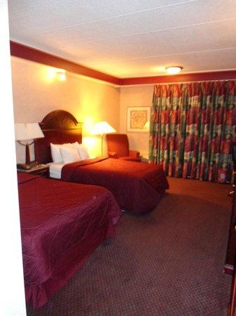 Comfort Inn Manchester Airport: Room