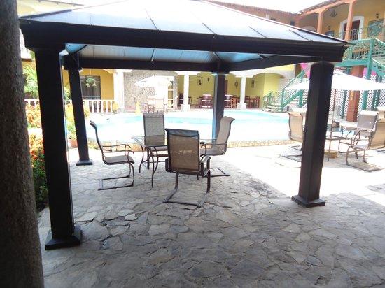 Hotel Antigua Comayagua: Area de Piscina