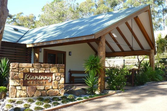 Kianinny Resort: Reception area