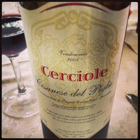 Hotel Ristorante Al Boschetto: Vino