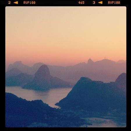 Parque da Cidade: Vista do Rio no por do sol!!