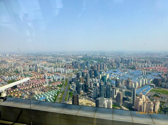 View From Shanghai World Financial Center 100 Floor