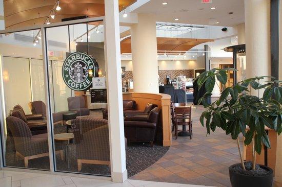 新澤西州爱迪生: 酒店內星巴克咖啡