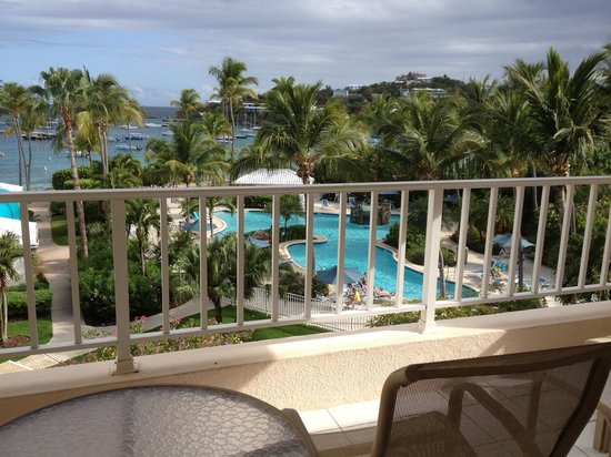 Elysian Beach Resort: View from Room 335 a parlor loft, full kitchen,  with 2 balconies and great view!!
